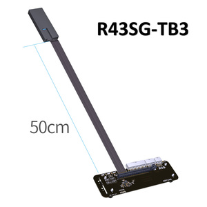 R43SG-TB3 PCIe x16 PCI-e x16 to TB3 Extension Cable PCI-Express Cables eGPU Adapter External Graphics Card Stand Bracket for PC(China)