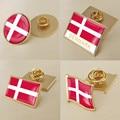 Герб Дания Датский карта национальный флаг эмблема брошь значки нагрудные знаки
