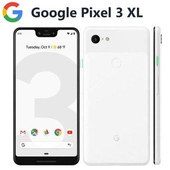 Перейти на Алиэкспресс и купить Глобальная версия Google Pixel 3 XL 4G LTE мобильный телефон 6,3 дюйм4 Гб 128 ГБ Snapdragon845 OctaCore 12.2MP 3430 мАч NFC Android-смартфон