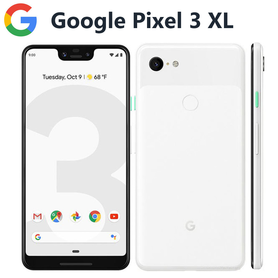 Global Version Google Pixel 3 XL 4G LTE Mobile Phone 6.3 4GB 128GB Snapdragon845 OctaCore 12.2MP 3430mAh NFC Android Smartphone image