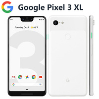 Global Version Google Pixel 3 XL 4G LTE Mobile Phone 6.3 4GB 128GB Snapdragon845 OctaCore 12.2MP 3430mAh NFC Android Smartphone
