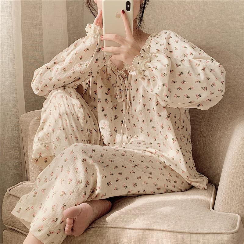 5 видов конструкций для женщин с милыми цветами для девочек ночная рубашка принцессы трусы в винтажном стиле с цветочным принтом пижамы ноч...