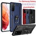 Für Samsung galaxy s21 plus fall s20 ultra 5g s10 e telefon abdeckung s 10 21 20 fe glauben s10plus s21ultra s20plus ständer schlank