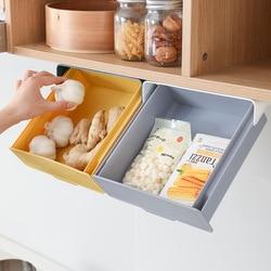 Punching-free Adhesive Cabinet Lower Finishing Box and Desk Bottom Hidden Box Drawer Storage Box home organization and storage