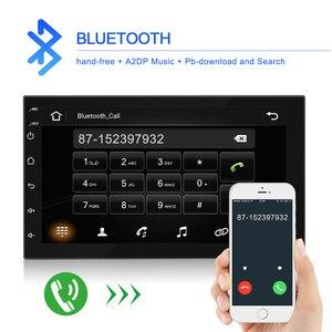 Image 2 - Podofo 2 din Android 9.1 Car Radios GPS Multimedia Player Universal auto Stereo For Volkswagen Nissan Hyundai Kia Toyota Mazda