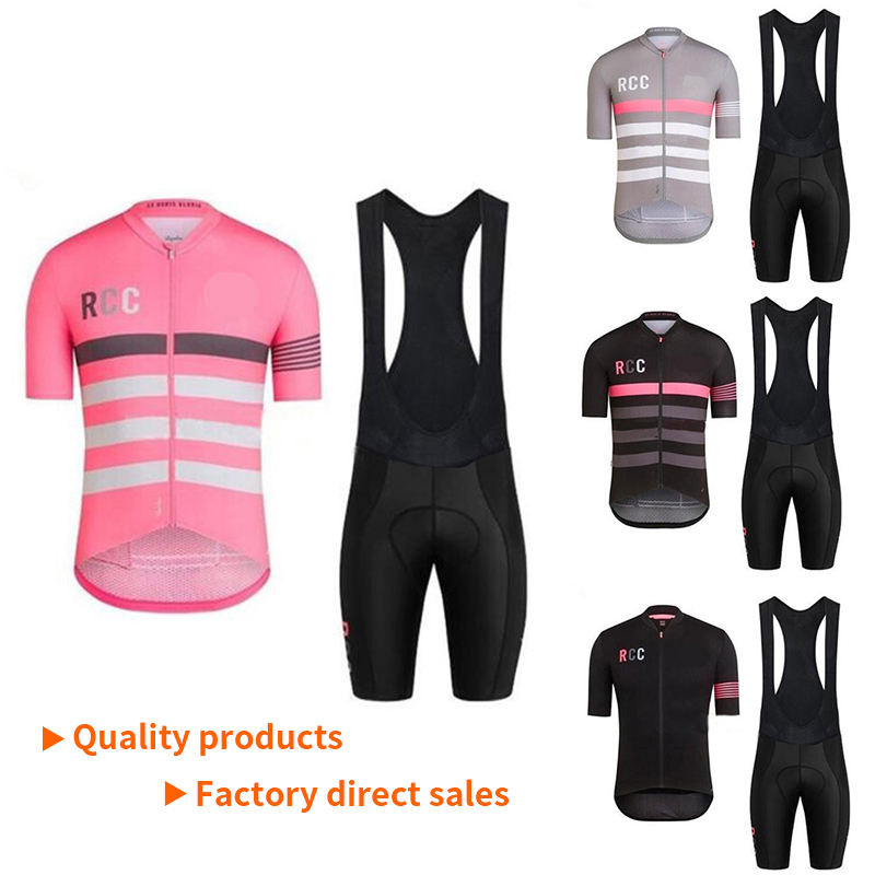 2019 Raphaing Ropa Ciclismo Cycling Jersey Bib Shorts Set Quick Dry 19D Gel Pad Mountain Cycling Clothing Suits Mtb <font><b>Bike</b></font> <font><b>Wear</b></font> image