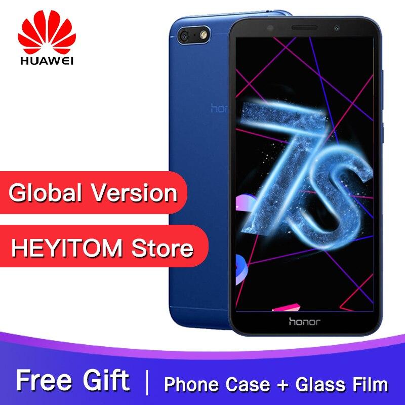 Original Global Version Huawei Honor 7S MT6739 Quad Core 13MP Rear Camera 3020mAh Battery 5 45