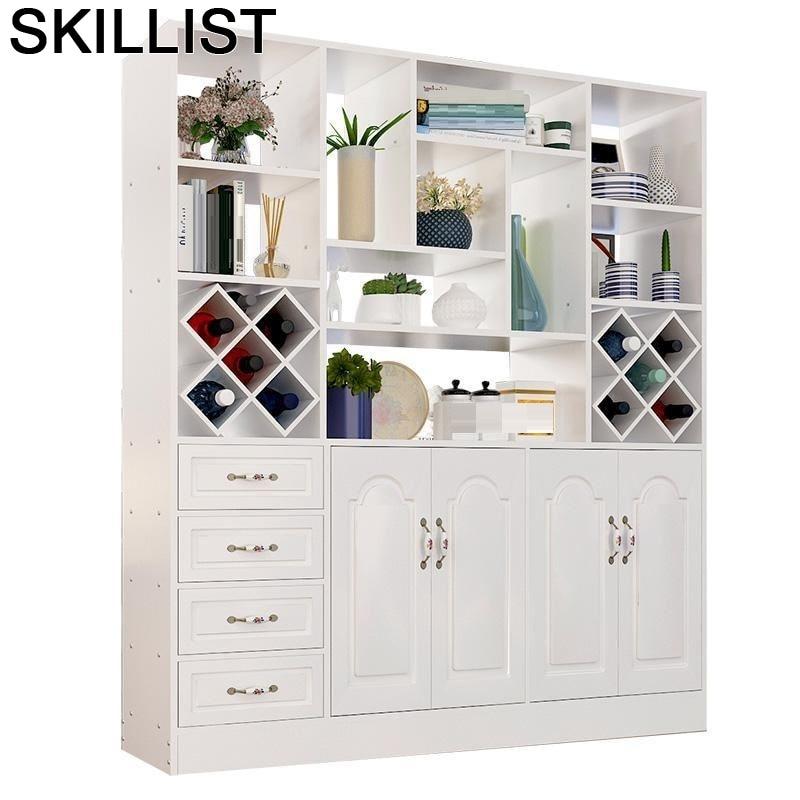 Room Table Mobilya Desk Vetrinetta Da Esposizione Meube Salon Adega Vinho Commercial Furniture Shelf Mueble Bar Wine Cabinet