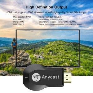 Image 5 - Kebidu 1080 720pワイヤレスwifiディスプレイ4 18kサポートhdtvディスプレイドングルテレビスティックiosアンドロイドm4 usb 2.0