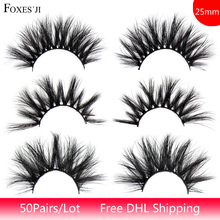 50pairs/lot 25mm Lashes 3D…