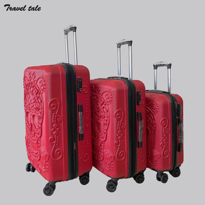 """Image 3 - CARRYLOVE 20""""24""""28"""" inch spinner ABS expander 3 pieces trolley case set rolling luggage suitcase set for travelling"""