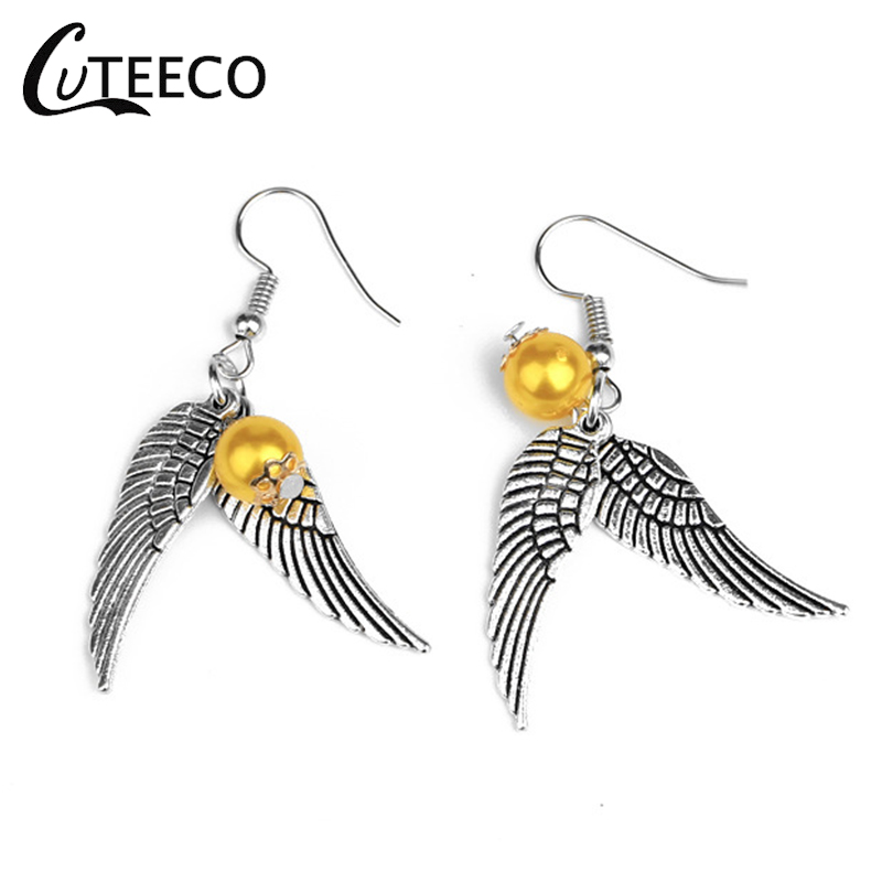 CUTEECO Potter Dangle Earrings for Women Simple Personality Ear Fashion Jewelry Vintage Dropshipping Handmade Fine Wholesale