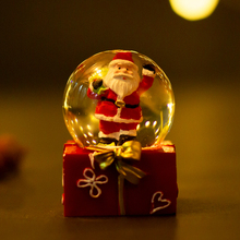 Wholesale Ball with Snow Christmas Snow Globe with Santa Claus Elk Crystal Ball Snow New Year Gifts Dropshipping 2019 цены