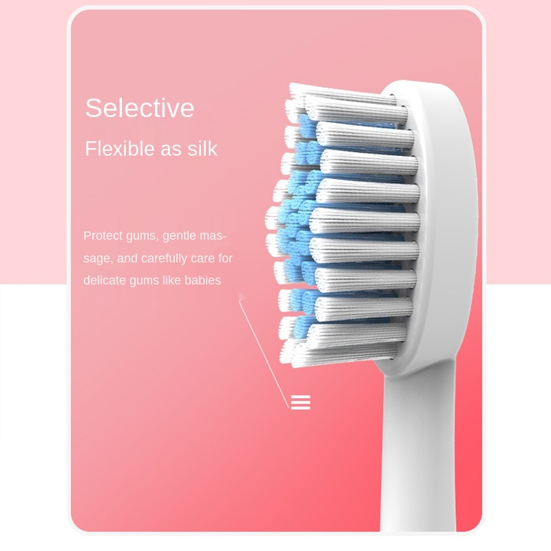 electric toothbrush sonic tooth brush teeth whitening ultrasonic heads travel automatic Waterproof USBRechargeable Acoustic wave