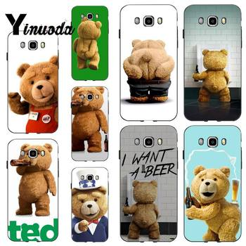 Yinuoda Ted Bear Movie Ted Kiss MY Butt Ass Luxury Unique Phone Cover for samsung a30 A30S a51 a50 a71 A40 A70 A21 A21S a11 a91 image