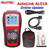 Original Autel AutoLink AL519 OBD EOBD Diagnostic Scanner Upgrade Online Multi Language Autel AL519 Code Reader Diagnostic Tool