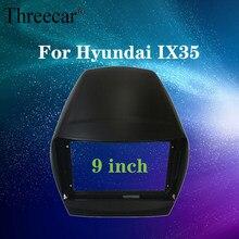 2din rádio do carro fáscia quadro apto para hyundai ix35 android gps painel traço quadro kit