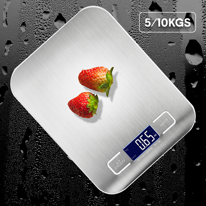 Digital Kitchen Scales Household Electronic Weights Food Scale With LCD Display Kitchen Accessories For Home Coffee Novelty Tool