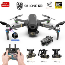 HKNA KAI ONE Pro GPS Drone gps 8K HD Camera 3-Axis Gimbal Professional Anti-Shake Photography Brushless Foldable Quadcopter Gift