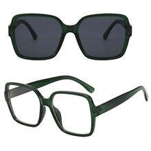 Myopia-Glasses Sun-Photochromic Transition Square Optical UV400 Diopter Women Female