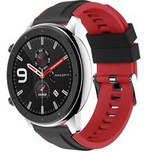 For Huami Amazfit GTR 47MM Silicone Watch Band Men Women Sport Smart Strap Stratos 2 2S mart Accessories