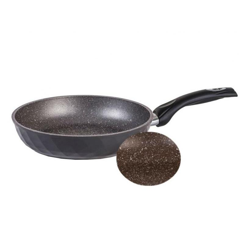 Frying Pan Dream, Diamond, Granite, Brown, 28 cm frying pan wok dream granite star 28 cm