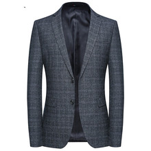 Spring and Autumn New Mens Leisure suit small Korean version of self-repair Business
