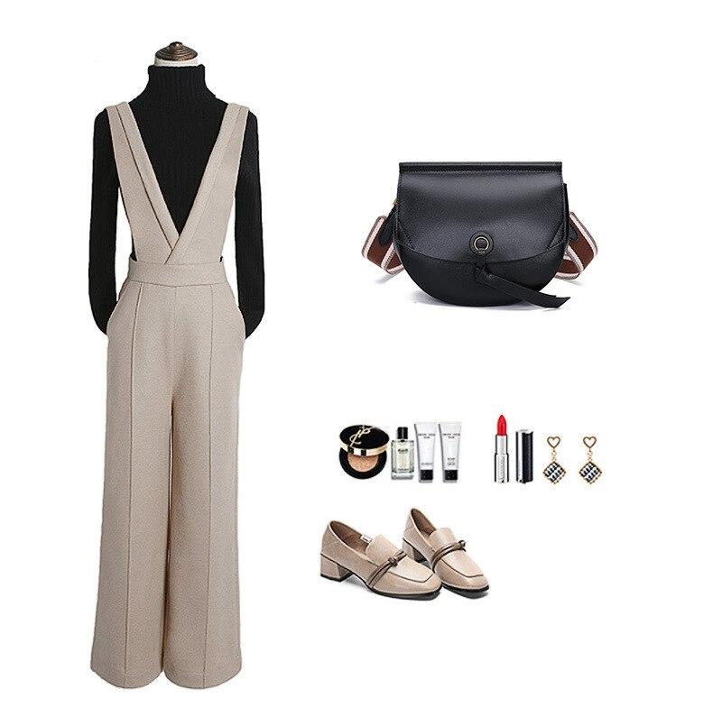 Bolso de mujer Cool 2019 nuevo estilo Hipster literatura y arte pequeño bolso redondo de moda delicado Simple versátil hombro de mujer Ba - 2