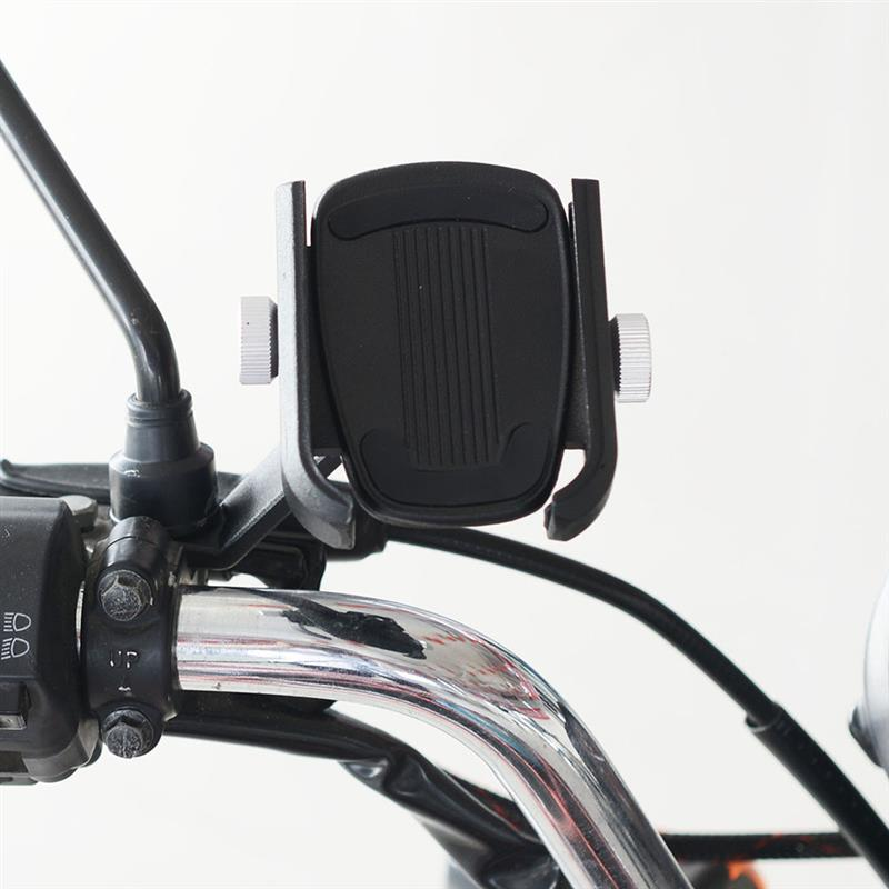 Bicycle Phone Holder Motorcycle Handlebar Smart Phone Bicycle Phone Holder Mount Clip Stand GPS Mount Bracket Rack