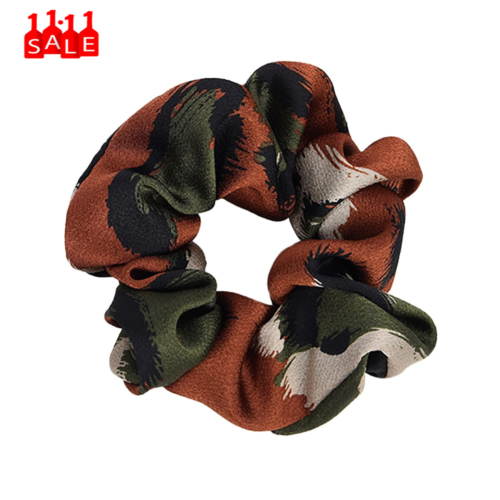 Ring Women accessories Elastic Hair Tie Scrunchie Ponytail Holder Hair Band panelled elasticity Rope Headband gumki do wlosow#ZC
