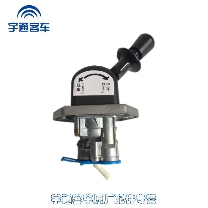 Yutong Bus Original Factory Parts Yutong Bus Manual Valve Assembly WABCO Handbrake Switch 3526-00006