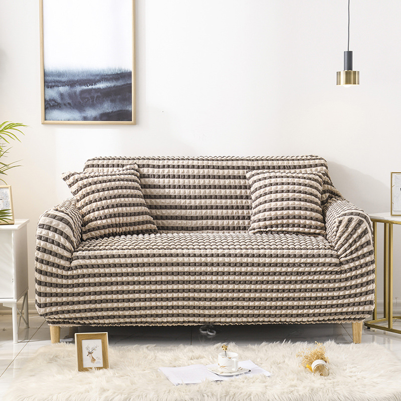 Bubble Cloth All inclusive Stretch Sofa Cover for Living Room Elastic Tight wrap Sofa Couch Covers