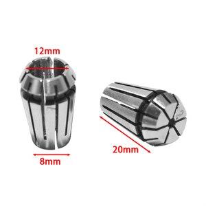 """Image 4 - 15Pcs/Set 1 7mm ER11 Milling Chuck +1 1/4"""" ER11 Milling Chuck Spring Collet Set For CNC Engraving Machine & Milling Lathe Tool"""
