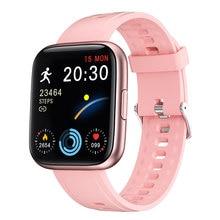 2021 volle Touch SmartWatch 1,7 Inch Frauen Männer Fitness Tracker Sport Uhr für Andriod IOS Wasserdichte Intelligente uhren Stunden