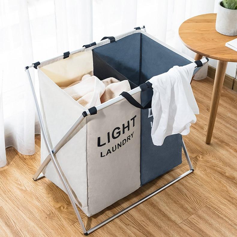 X-shape форме, благодаря чему создается ощущение невесомости с складная корзина для грязного белья складная с тремя сетками Home корзина для бел...