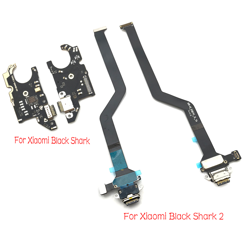 Charger Board PCB Flex For Xiaomi Black Shark 2 USB Port Connector Dock Charging Ribbon Cable