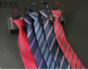 6cm Lazy Zipper Classic Men Business Formal Wedding Tie Stripe Floral Neck Tie Fashion Shirt Dress Accessories Jacquard Slim Tie floral embroidered tie detail stripe dress