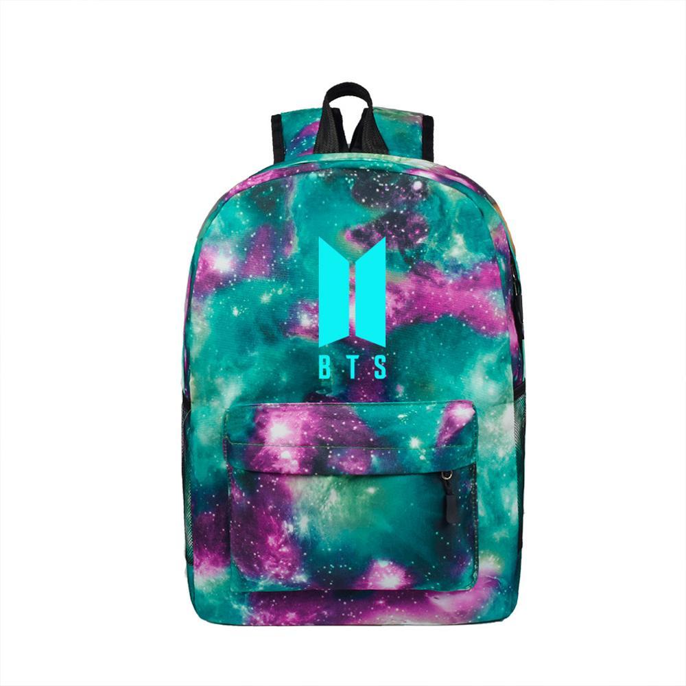 Backpack Stylish Galaxy Stars Universe Space School Book Bag School Backpack For Teenagers Mochilas Feminina