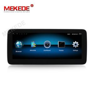Image 2 - IPS Android 10.0 8Core 4+64G Car dvd radio audio multimedia Player GPS Navigation For Mercedes Benz GLK Class X204 2008   2015
