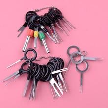 41 pçs terminal elétrico do carro agulha plug conector de fiação pino extrator remoção ferramenta reparo removedor acessórios