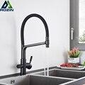 Черный фильтр для воды кухонный кран смеситель горячей и холодной воды кран 4 цвета краны для чистой воды кухонный фильтр кран очиститель во...
