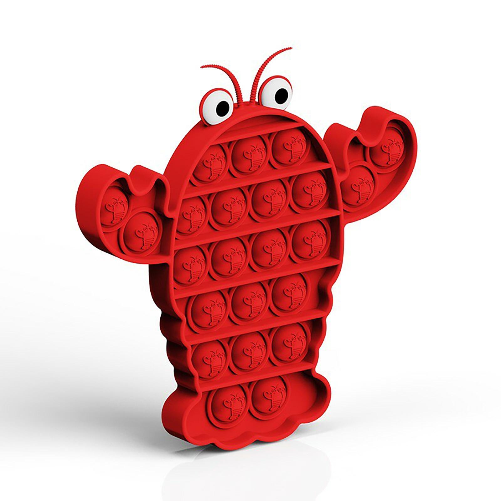 Toy Fidget-Toys Sensory-Toy Autism Needs-Stress Push Bubble Popit Special Simple Dimple