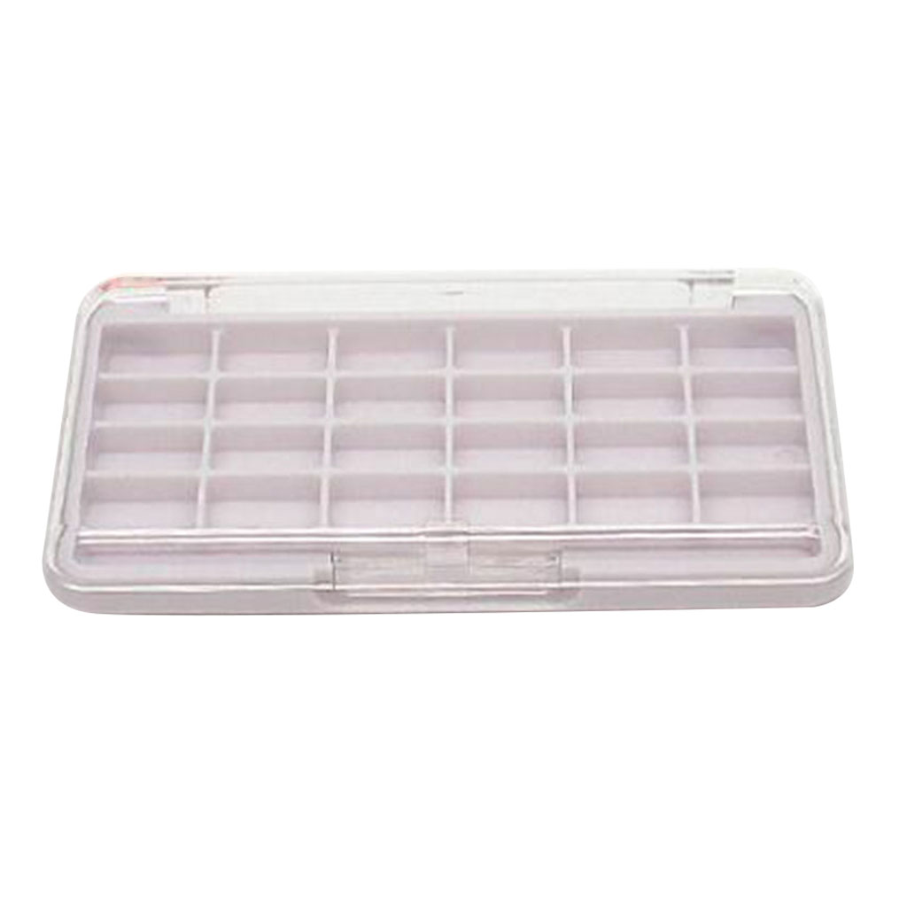 24 Grid Empty Makeup Eyeshadow Palette Blush Lip Gloss Powder DIY Case