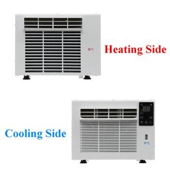 Aire acondicionado de escritorio para el hogar y la Oficina, 1100W, 220V, temporizador de 24 horas de frío/calor con panel de control remoto LED  2