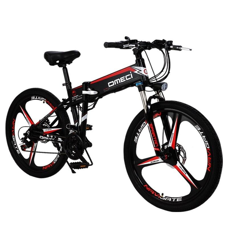 Hohe qualität lithium-batterie elektrische fahrrad 48V 300W 13AH hilfs mountainbike 21 geschwindigkeit Elektrische falten fahrrad ebike