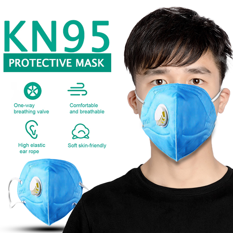 Coronavirus KN95Certificate Mouth Face Mask Dust Anti Infection KN95 Masks Respiratory Protection PM 2.5 Same Protection As Ffp3