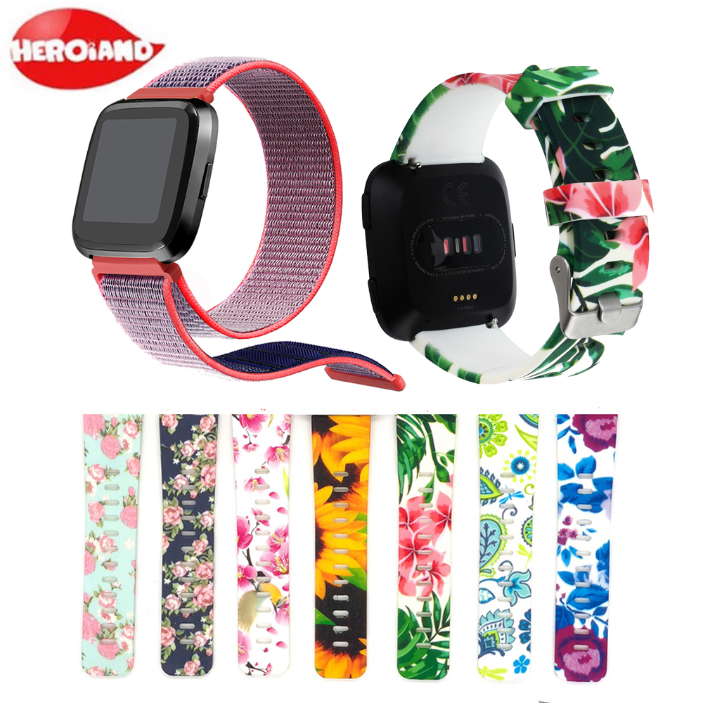 Smart Watch Strap Band For Fitbit Versa 2 Watch Replacement Accessories Bracelet Wristband For Fitbit Versa Lite Watchband Bands