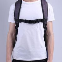 Durable Outdoor Camping Hiking Buckle Clip Adjustable Strap Chest Harness Bag Backpack Shoulder Fixing Strap