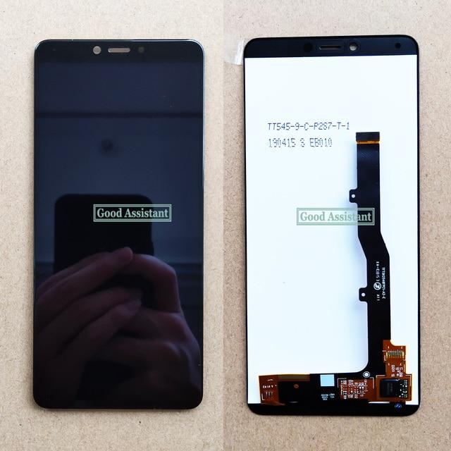 Pantalla LCD completa de 5,45 pulgadas para ZTE Blade A4 A0722 / Blade A7 Vita, montaje de digitalizador con pantalla táctil, probado en 100%, color negro