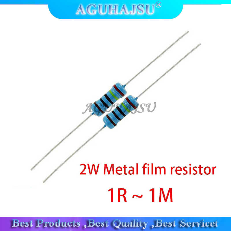 Pack of 100 220R Ohm 0.25W 1/% Metal Film Resistor
